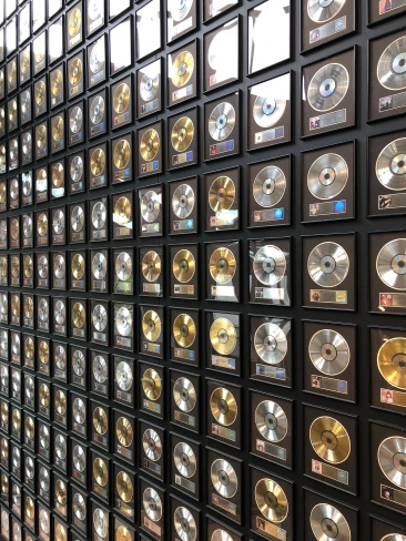 Silver, Gold and Platinum Records at the Country Music Hall of Fame